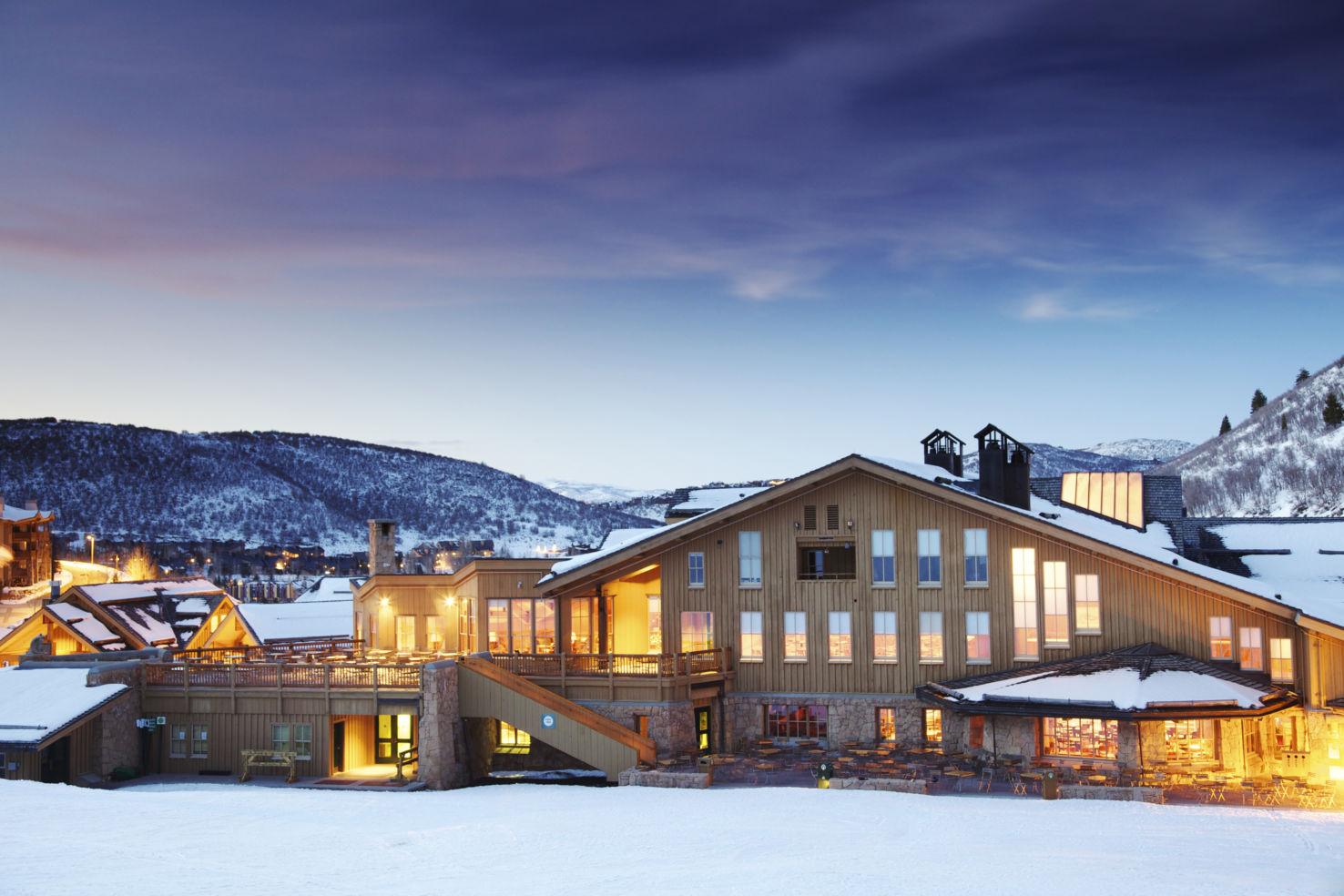 Deer Valley Ski Resort Lodge