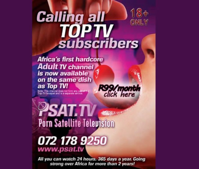 Hour Porn Channel For South Africa In January