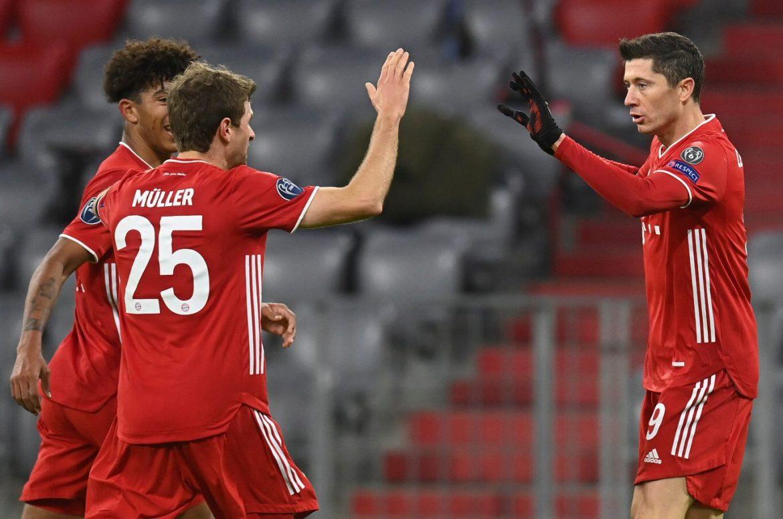 Bundesliga | Robert Lewandowski on target as Bayern Munich reach Champions  League knockout rounds