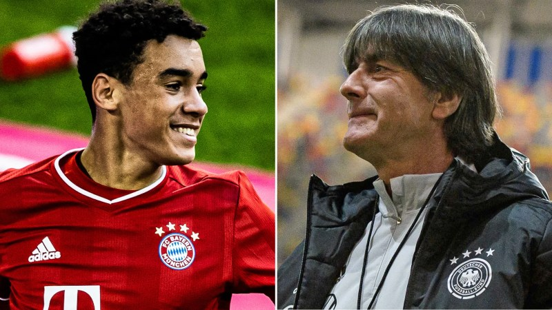 "Bundesliga | ""I want to call up Jamal Musiala"" - Germany head coach Joachim  Löw"