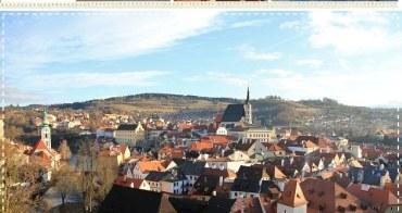 『歐洲旅行』庫倫洛夫時光停止,最浪漫的波希米亞小鎮。