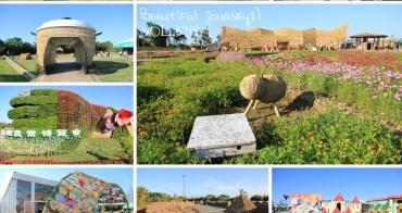 『桃園景點』2017桃園農業博覽會,30公頃花海地景拍照趣!