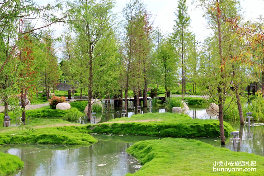 雲林新景點 | 走入明信片~澄香堂景觀餐廳,擁抱愛心綠色森林湖,最美時刻在此。 | 小兔小安*旅遊札記