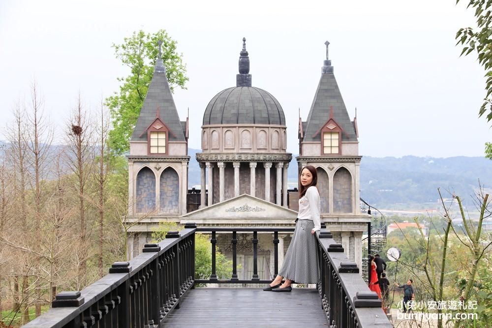 苗栗景點》愛麗絲的天空攝影基地,唯美巴洛克教堂,走入森林裡的夢幻仙境~   小兔小安*旅遊札記