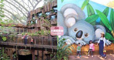 台北新景點》臺北市立動物園穿山甲館來囉!S型森林天空步道、水藍海底隧道全都好拍!