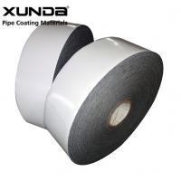 PE Gas Pipe Wrap Tape Black Or White Color , Wrapping Tape
