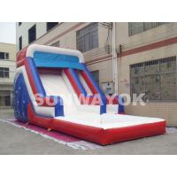 Big backyard inflatable water slide , blow up water slides ...