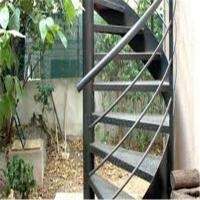 Exterior Stainless Steel Spiral Staircase Design Prefabricated | Used Spiral Staircase For Sale | 4 Foot | Corkscrew | Contemporary | Steel | Outdoor