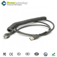 CBA-U12-C09ZAR For Symbol Cable 9ft Type A USB dark gray