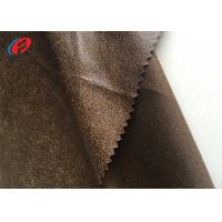 suede sofa fabric outdoor curved sectional cover 100 polyester fake leather warp knitted faux quality for sale