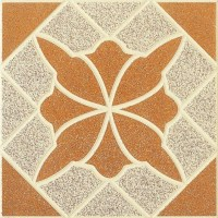 Glazed Ceramic Tile Tuscan Fireplace Classic Ceramic Floor