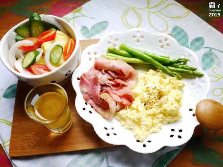 <食譜分享> 西式早午餐在家也能輕鬆上手,為家人增添生活樂趣。(早午餐/梅爾雷赫冷壓初榨橄欖油/台灣源味本舖/豆油伯)