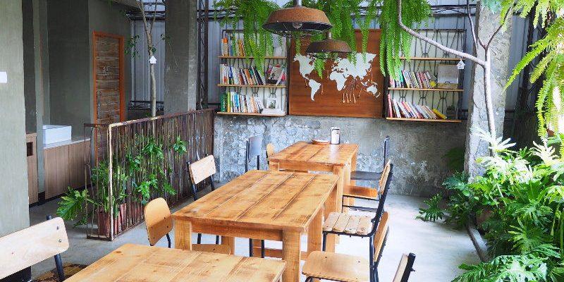<台中食堂> 好好 Good days,昇平店是香料花草滿屋的氛圍,樓頂還有南洋風貌的用餐環境。(台中咖啡館/薰衣草森林/台中下午茶)