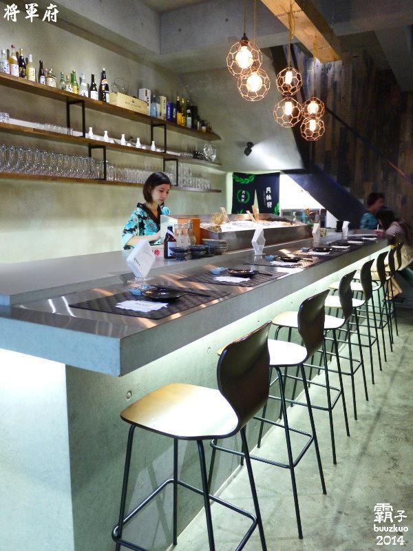 將軍府日式居酒屋,簡約工業風結合居酒屋的概念 ~ - 霸子。食樂拼圖