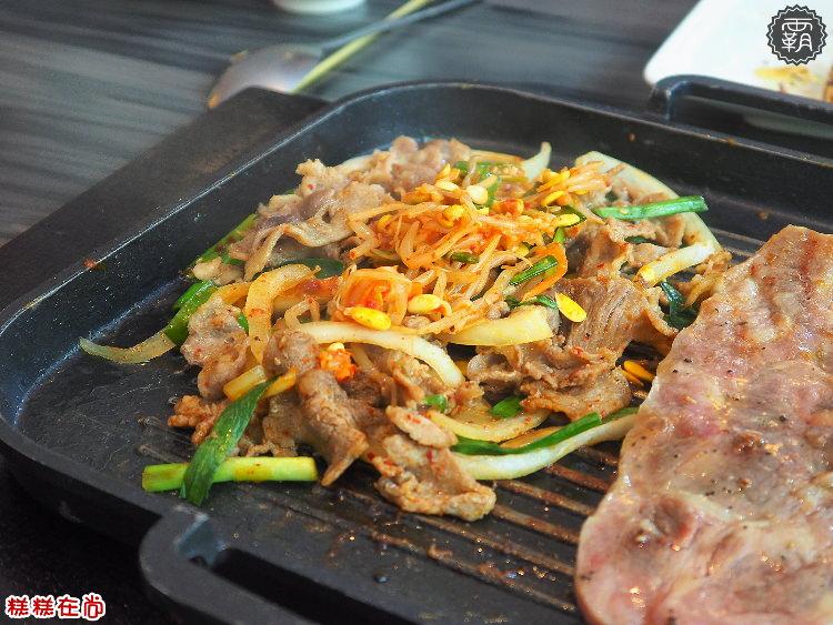 <台中燒肉> 糕糕在尚韓式烤肉,搬到科博館附近,店內20多樣食材一樣是吃到飽,價位更便宜CP值更高~(台中韓式/台中吃到飽/科博館美食)