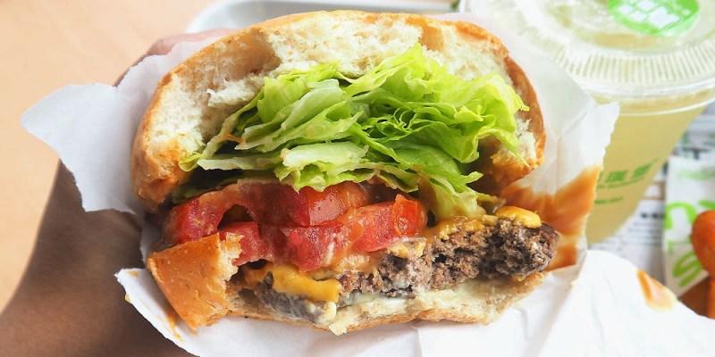 <台中漢堡> 樂檸漢堡站前轉運門市,帶有肉汁肉香的牛肉配香濃花生醬,果真邪惡阿!(火車站美食/台中轉運站美食/台中樂檸漢堡)