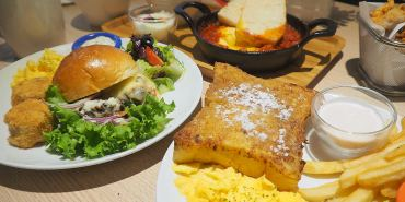 <台中早午餐> 啊姆AAMU-AAMU西區英法風格早午餐,簡單無負擔的風味,北非異國煎蛋吃出蕃茄的微酸香氣。(西區早午餐/台中下午茶/邀約)