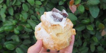 <嘉義甜點> 貓尾巴麵包店,超搶手的泡芙甜點,每日上午出爐,晚來就買不到囉!