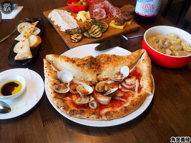 <台中義式> Pizzeria L&#8217;angolo角度義棧,黎明新村內鄉村風小餐館,山海一片天披薩海陸食材一次滿足!(台中披薩/拿坡里披薩/試吃)