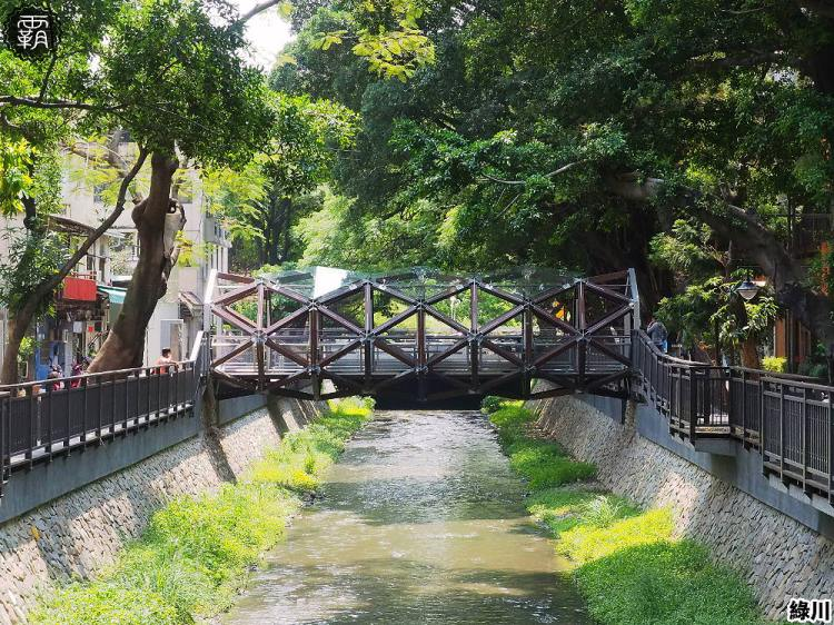 <台中景點> 綠川書屋橋,綠川二期新景點,老樹、溪流、木棧道交織而成的綠川映像!