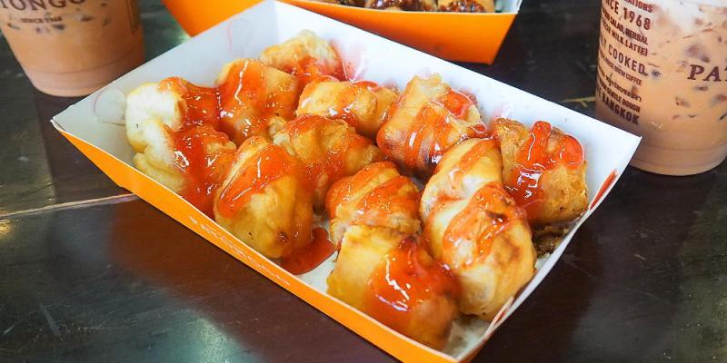 <泰國曼谷> Patonggo Cafe,曼谷老城區油條咖啡館,泰式油條有甜有鹹,十分有趣!