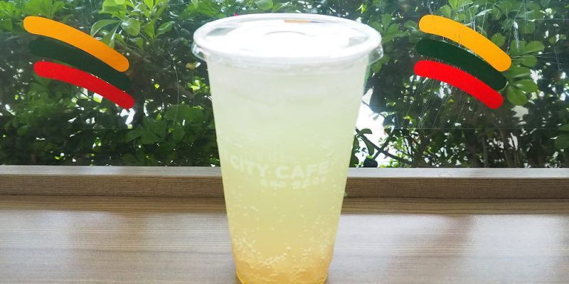 <7-11冰飲> 7-ELEVEN蜜柚氣泡珍珠,黃色氣泡漸層搭白玉珍珠新上市!
