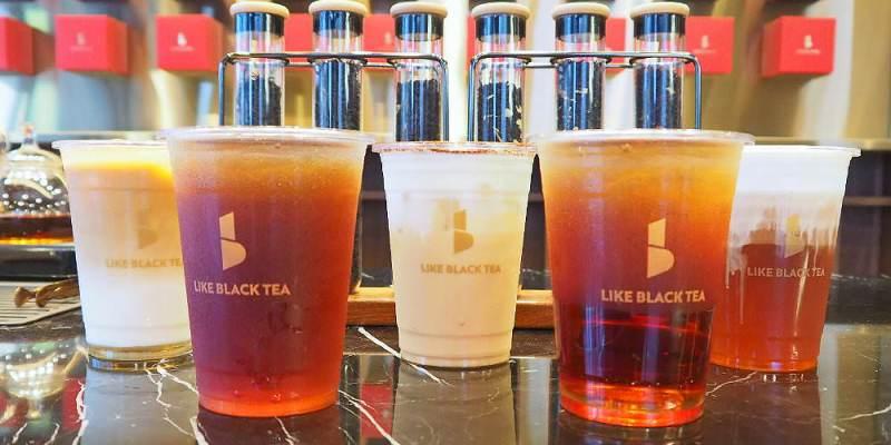<台中飲料> LIKE BLACK TEA喜歡紅茶,一中街新開幕質感紅茶店,有IG美拍牆還能喝到現場手沖熱茶!(一中美食/台中紅茶/試吃)