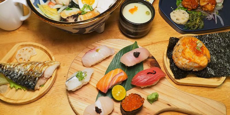 <台中日式> 望月家日式料理,台中西區平價壽司、烏龍麵定食,有美美和服可穿著拍照打卡!(台中壽司/台中定食/試吃)