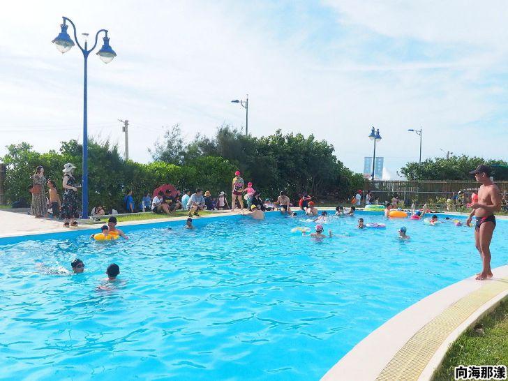 20200630200113 9 - 大小朋友一起去玩水,向海那漾濱海露營區戲水泳池開放拉!