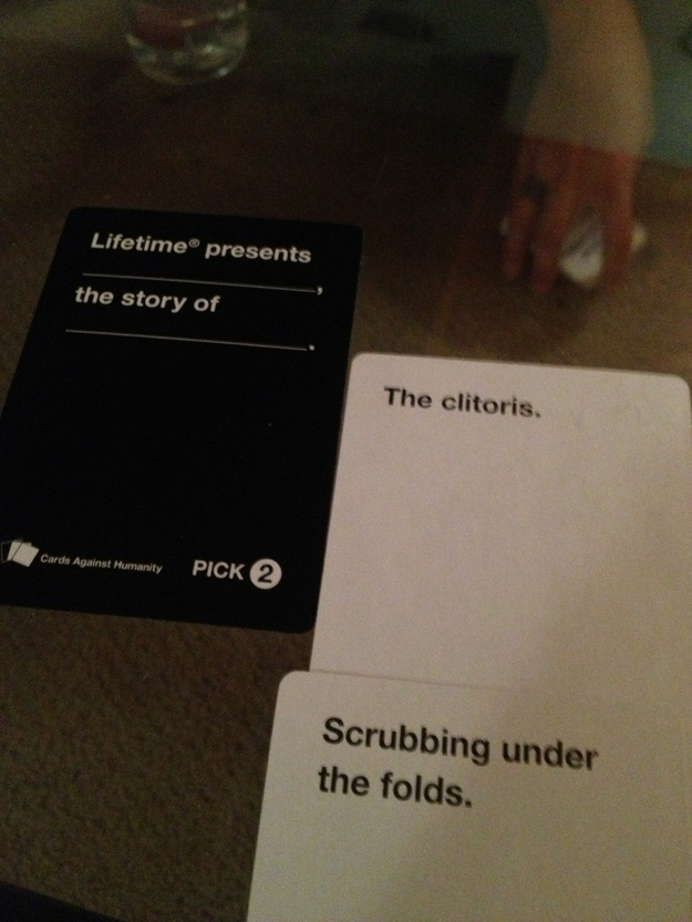 21 Hilarious Awkward And Painful Rounds Of Cards Against