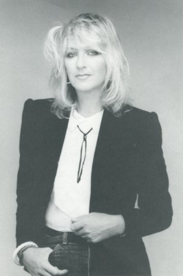 After Green left in 1970, the band replaced him with Perfect, a vocalist/pianist who had a small legion of fans in the U.K. She wasn't considered a full member of Fleetwood Mac until 1971, and by that time she had married band bass player John McVie, inheriting his name.