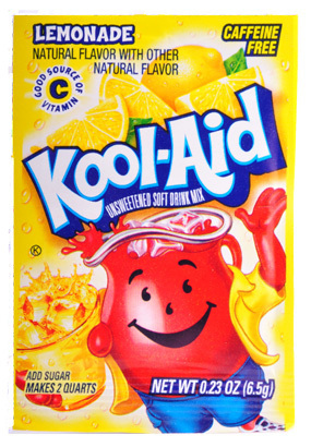 Surprisingly, Kool-Aid helps chlorine-damaged hair.
