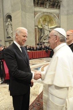 Catholic Biden cops to small vice