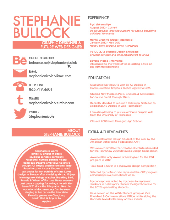 how to write a good resume template