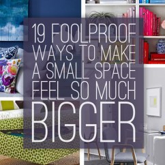 Decorating Ideas To Make A Small Living Room Look Bigger Rent Own Furniture 19 Foolproof Ways Space Feel So Much Share On Facebook