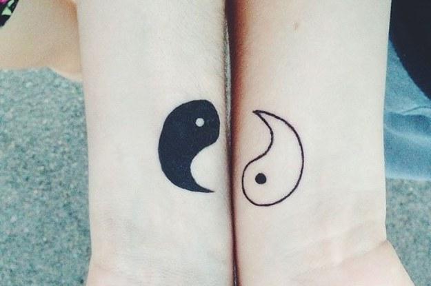 31 Tatuajes Increíblemente Geniales Que Hacen Juego Y Perfectos Para