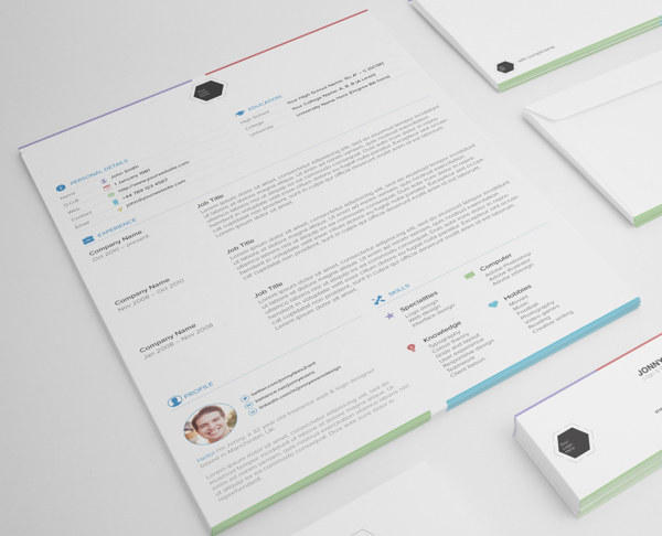 resume template vk