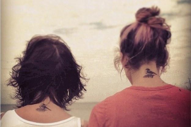 40 Enternecedores Tatuajes De Madre E Hija
