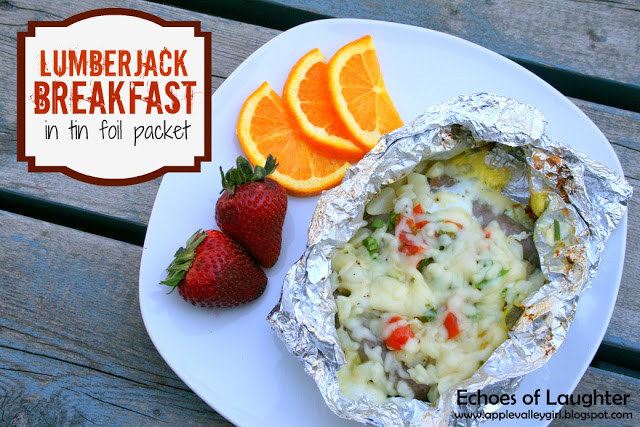 A super hearty foil pack of eggs, veggies, frozen hash browns, and cheese. Perfect if you're fueling up for a hike. Recipe and instructions here.
