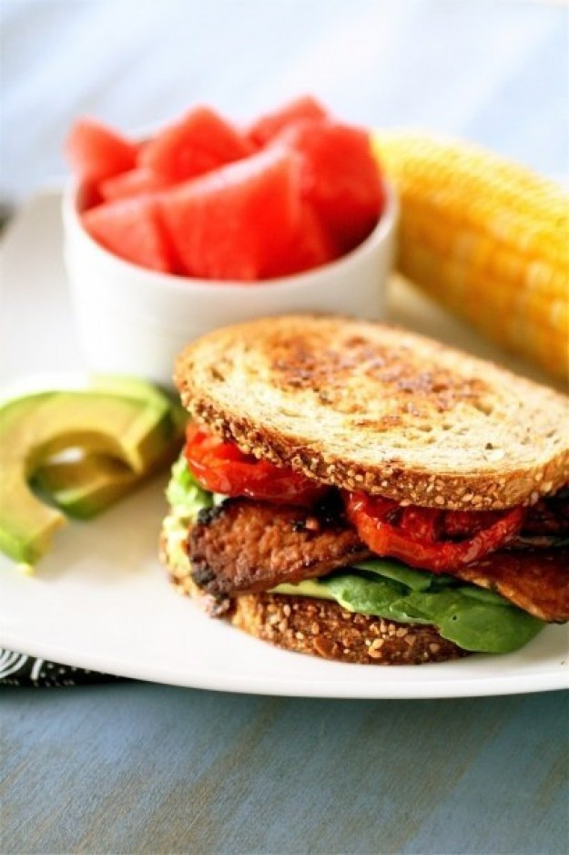 TLTs (Vegetarian BLTs)