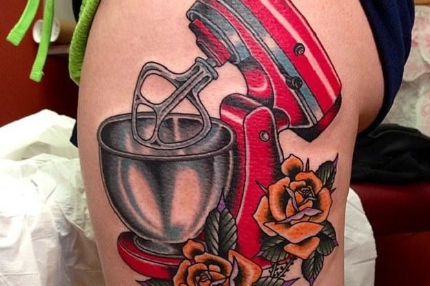 kitchen aid mixer reviews sink oakley 10 awesome kitchenaid tattoos