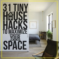 How To Design A Tiny Living Room Pottery Barn Chairs 31 House Hacks Maximize Your Space