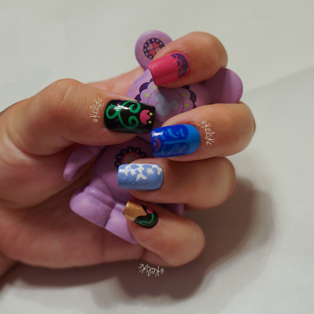 15 Disney Frozen Olaf Nail Art Designs Ideas Trends Stickers 2016 Nails Fabulous