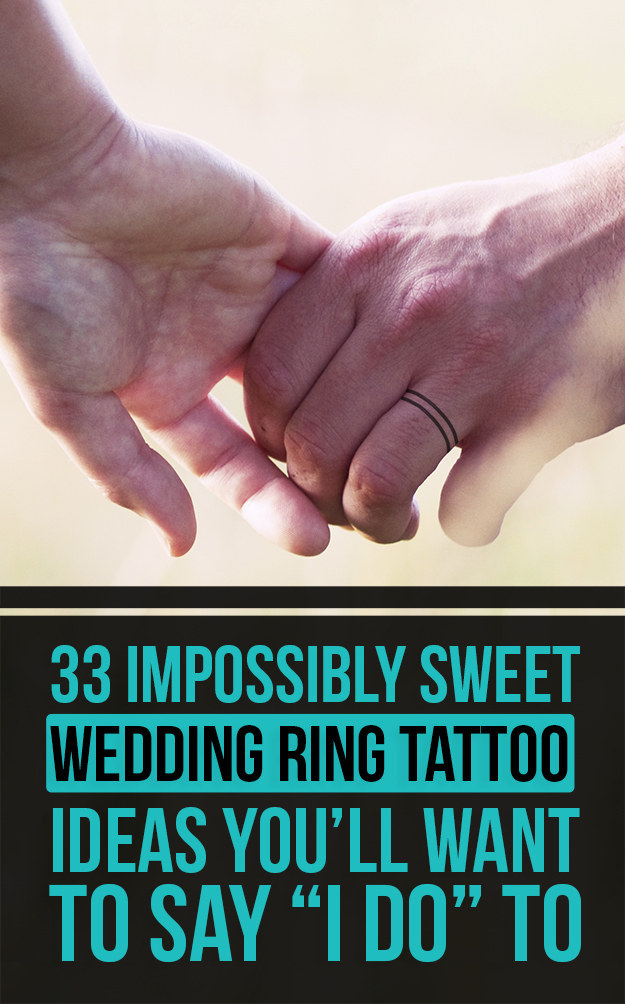 Wedding Ring Tattoo Ideas For Her