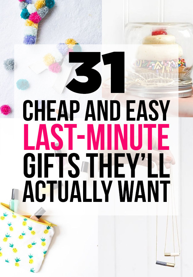 31 cheap and easy