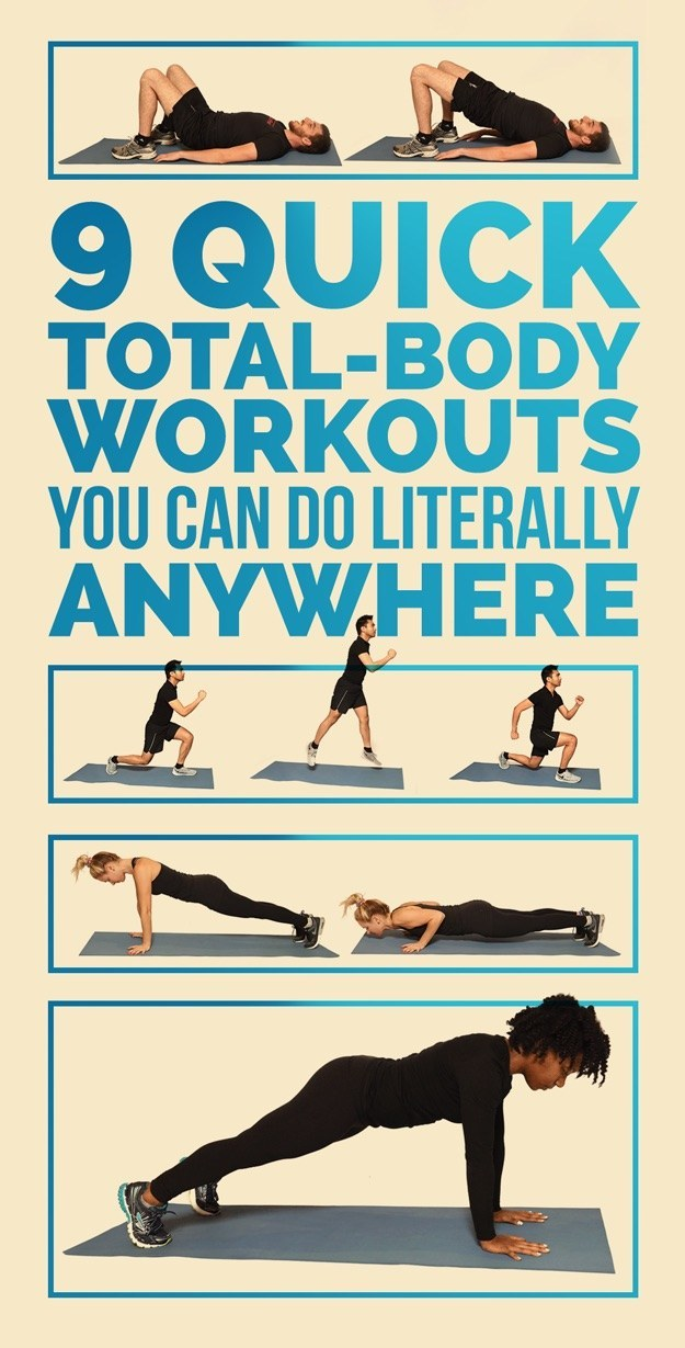 9 quick total body