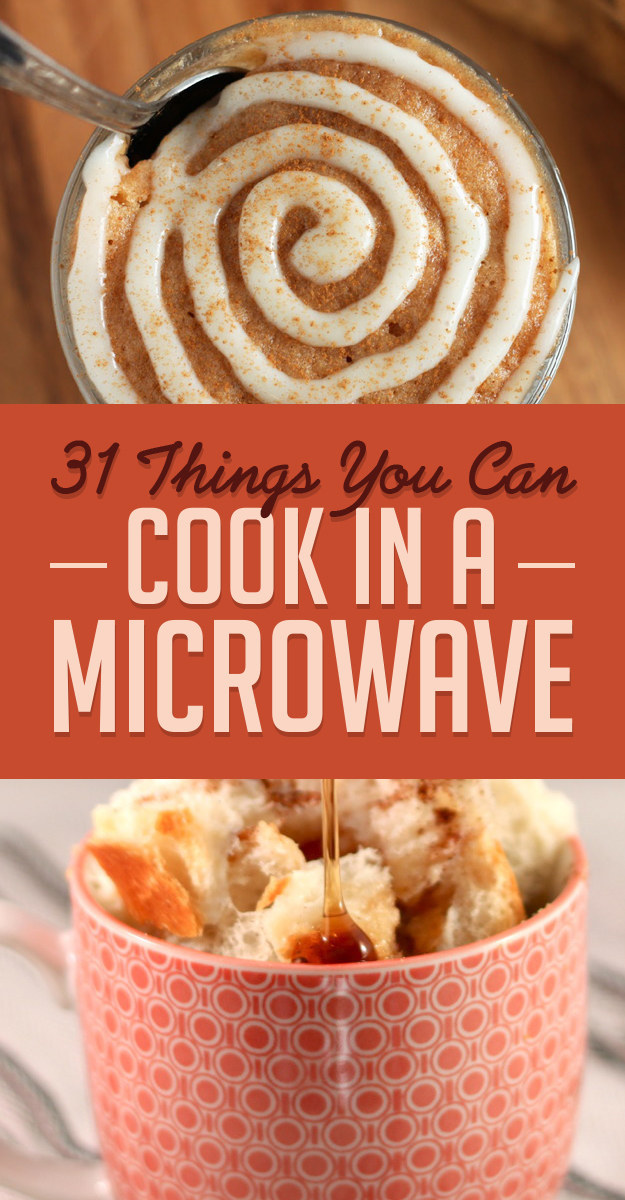 31 microwave recipes that are