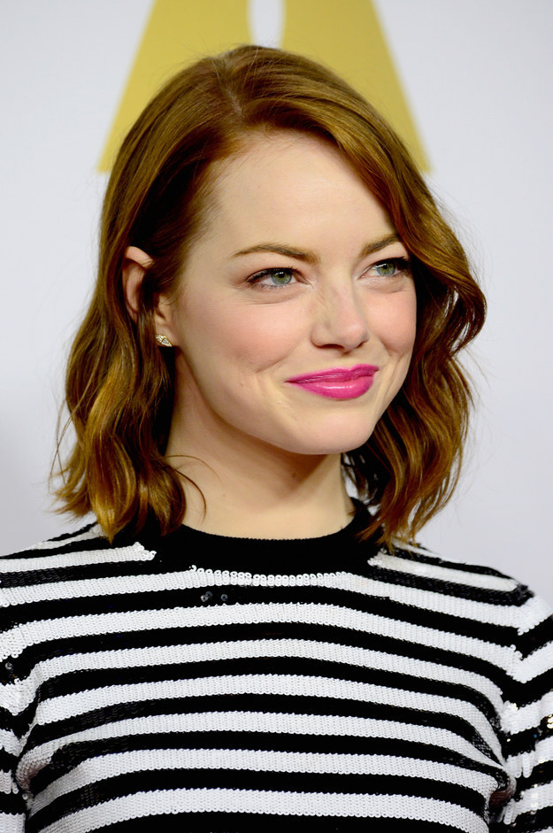 Emma Stone Yum : stone, Oscar, Nominees, Perfect, Responses, Gendered, Questions