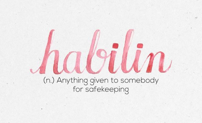 """Habilin"""