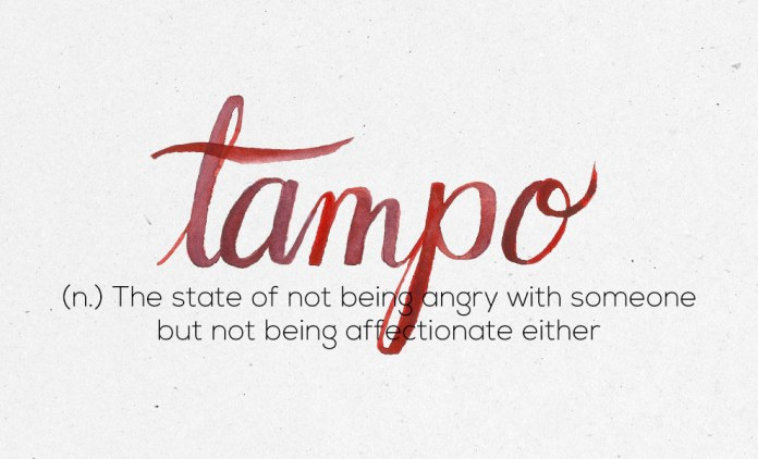 """""""Tampo"""""""